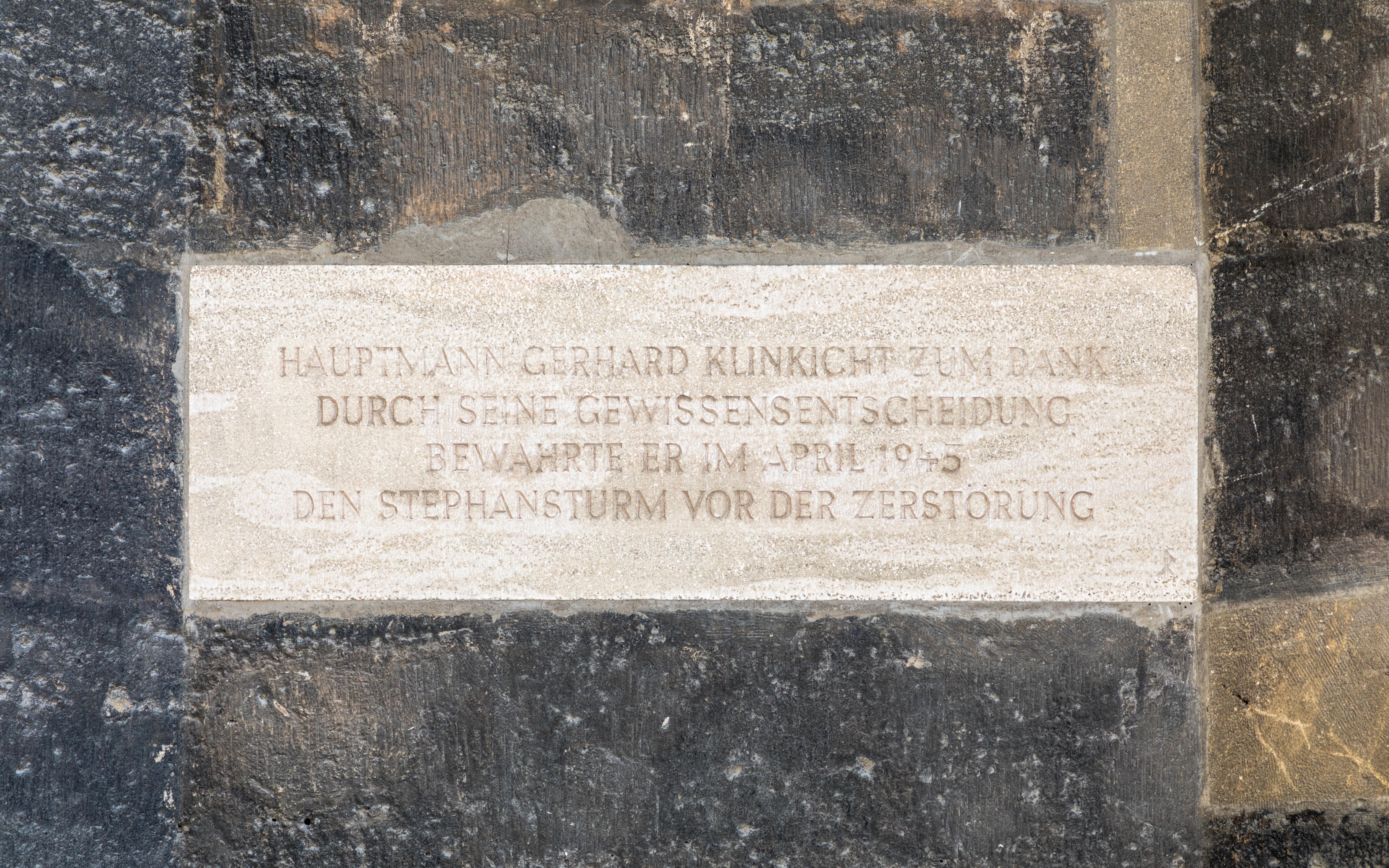 Wien, Stephansdom, Gedenktafel -- 2018 -- 3284.jpg