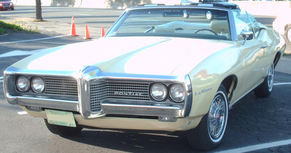 File 69 Pontiac Lemans Convertible Jpg Wikimedia Commons