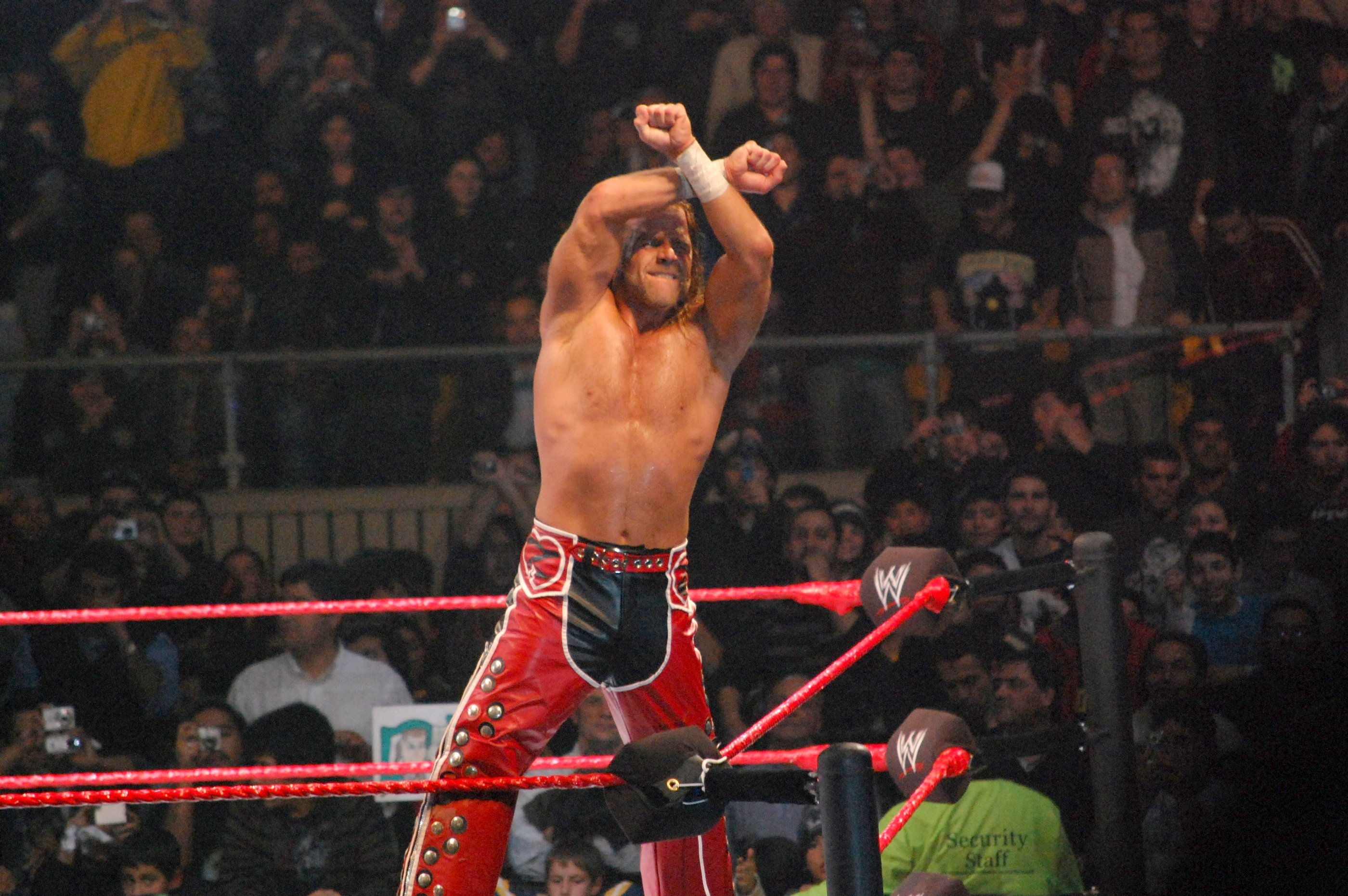File DX Sign with Shawn Michaels Wikimedia mons