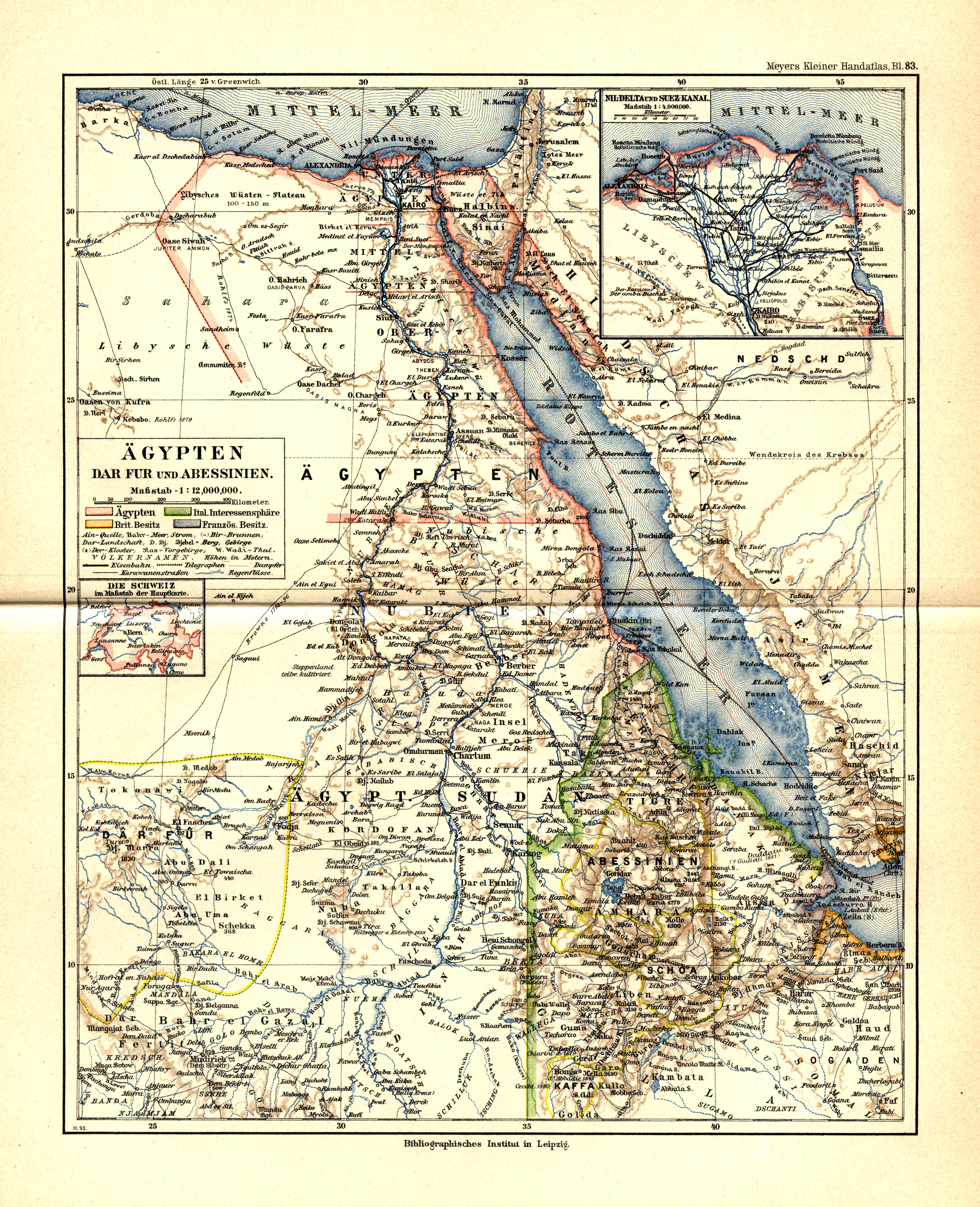Old Maps of Egypt