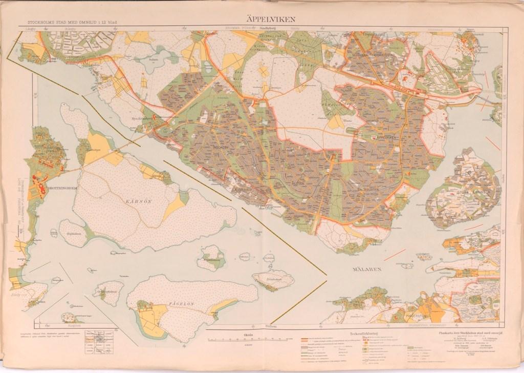 File Appelviken Karta Fran 1917 1933 Jpg Wikimedia Commons