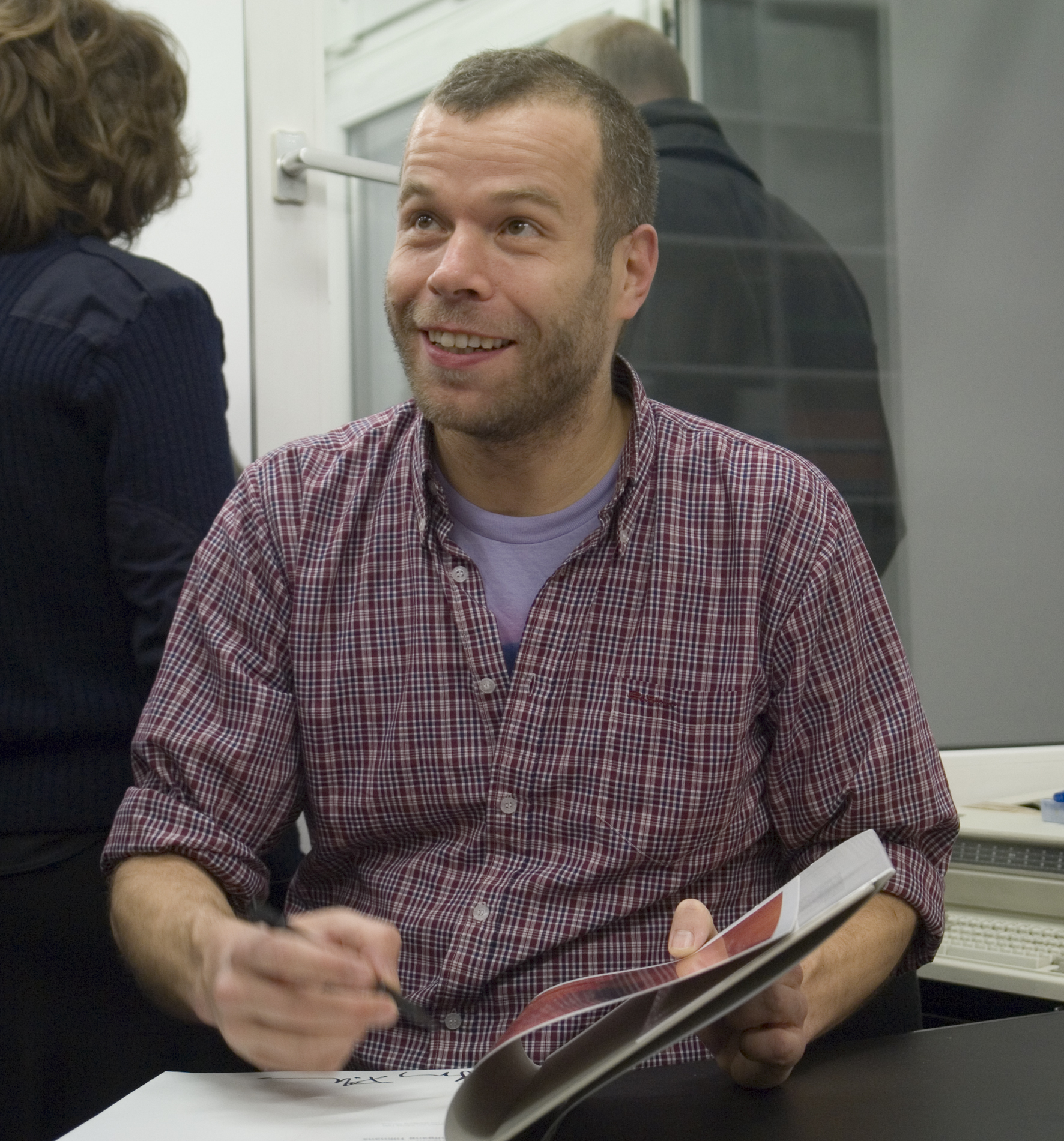Image of Wolfgang Tillmans from Wikidata