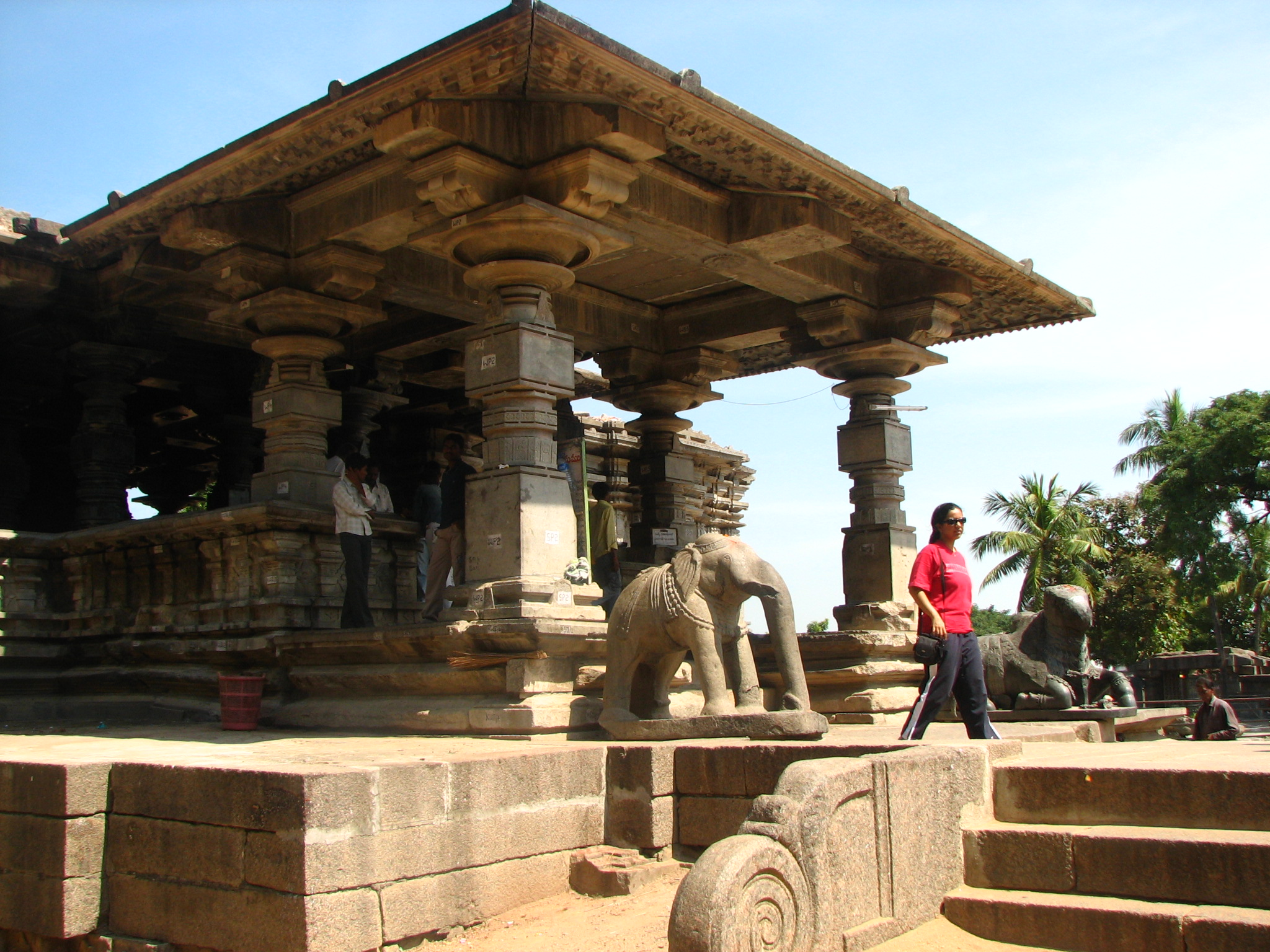 Thousand Pillar Temple at Warangal