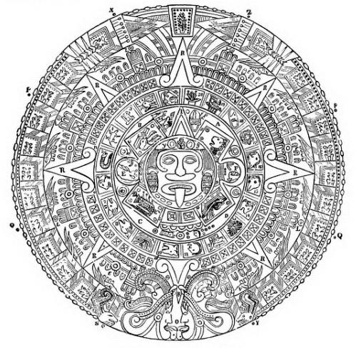 Aztec Calendar Stone.File 117 Aztec Calendar Stone Jpg Wikimedia Commons
