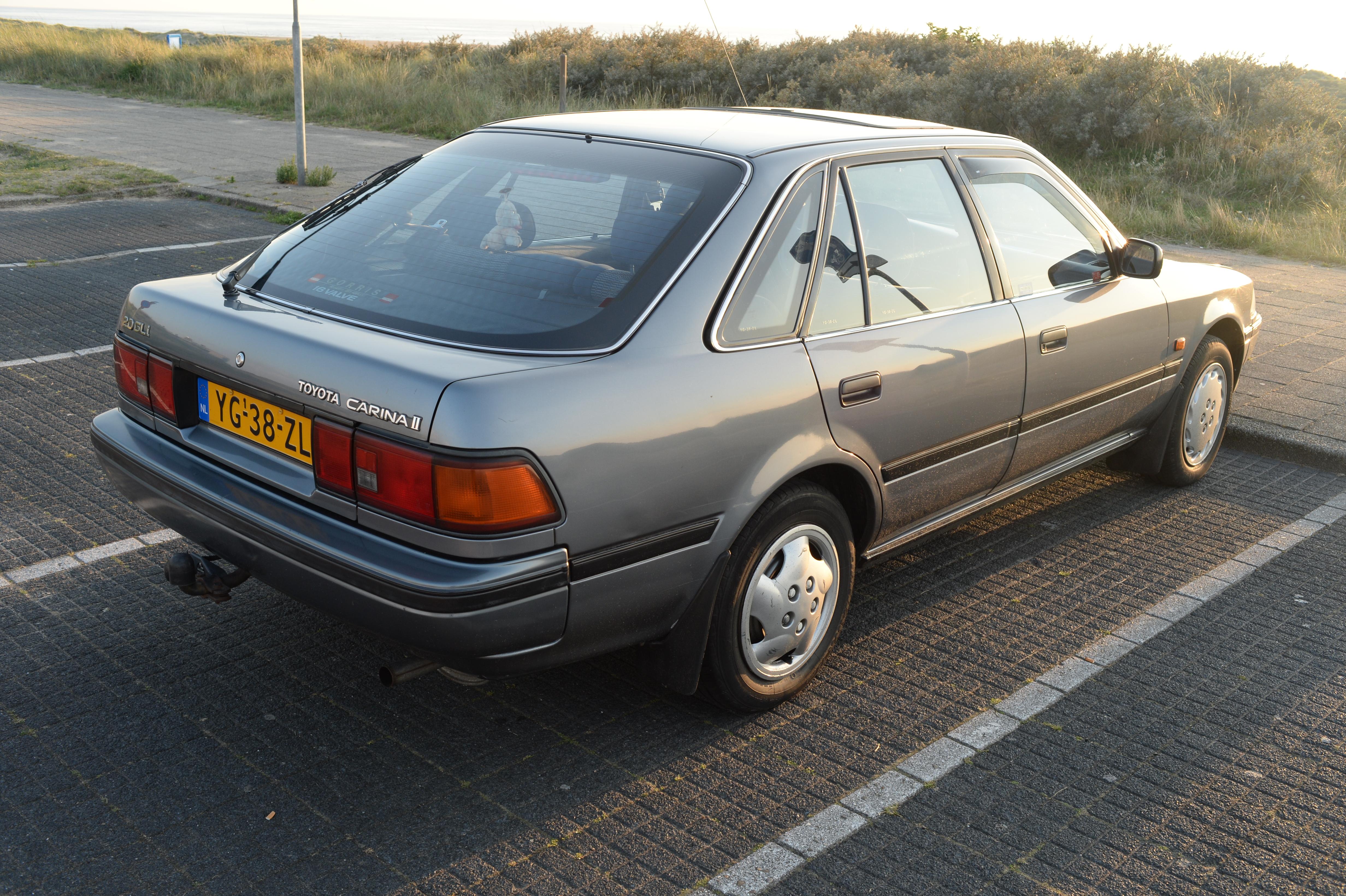 File 1990 Toyota Carina Ii 2 0 Gli 14651913157 Jpg