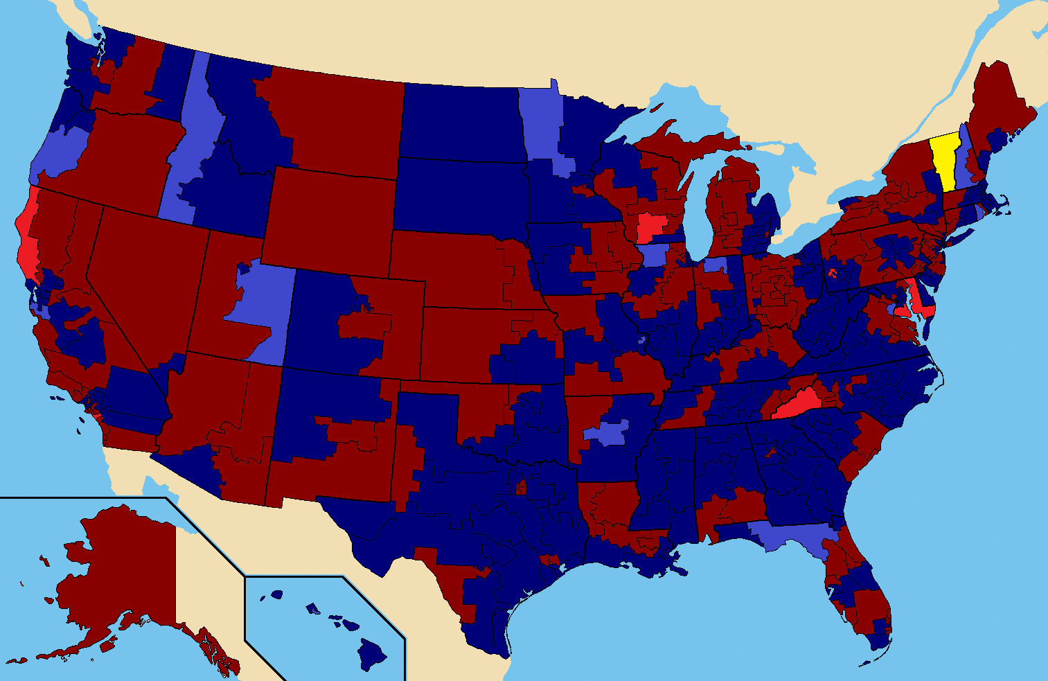 Datei:1990 US House Election Map.png – Wikipedia