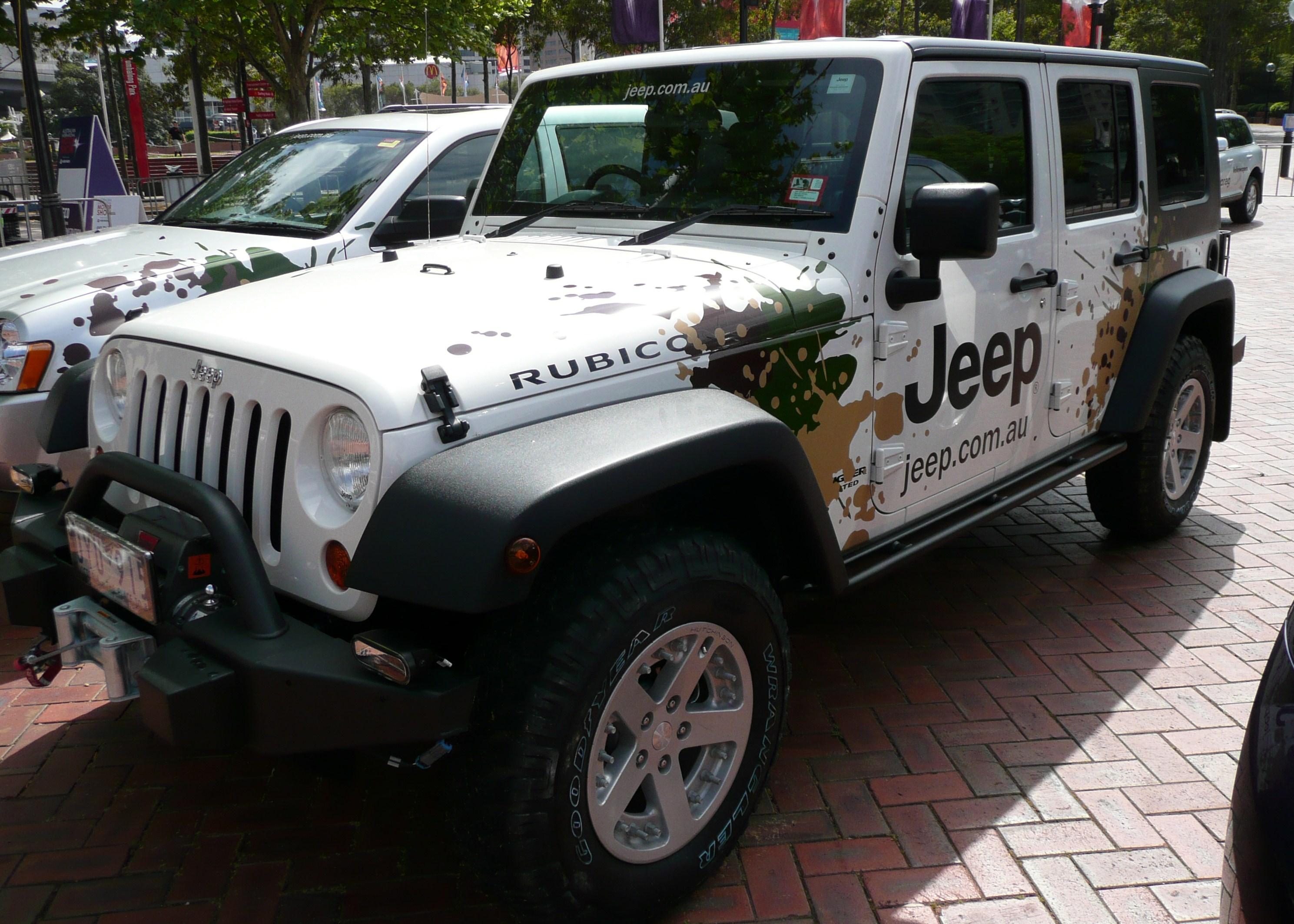 File:2007 Jeep Wrangler JK Unlimited Rubicon Softtop