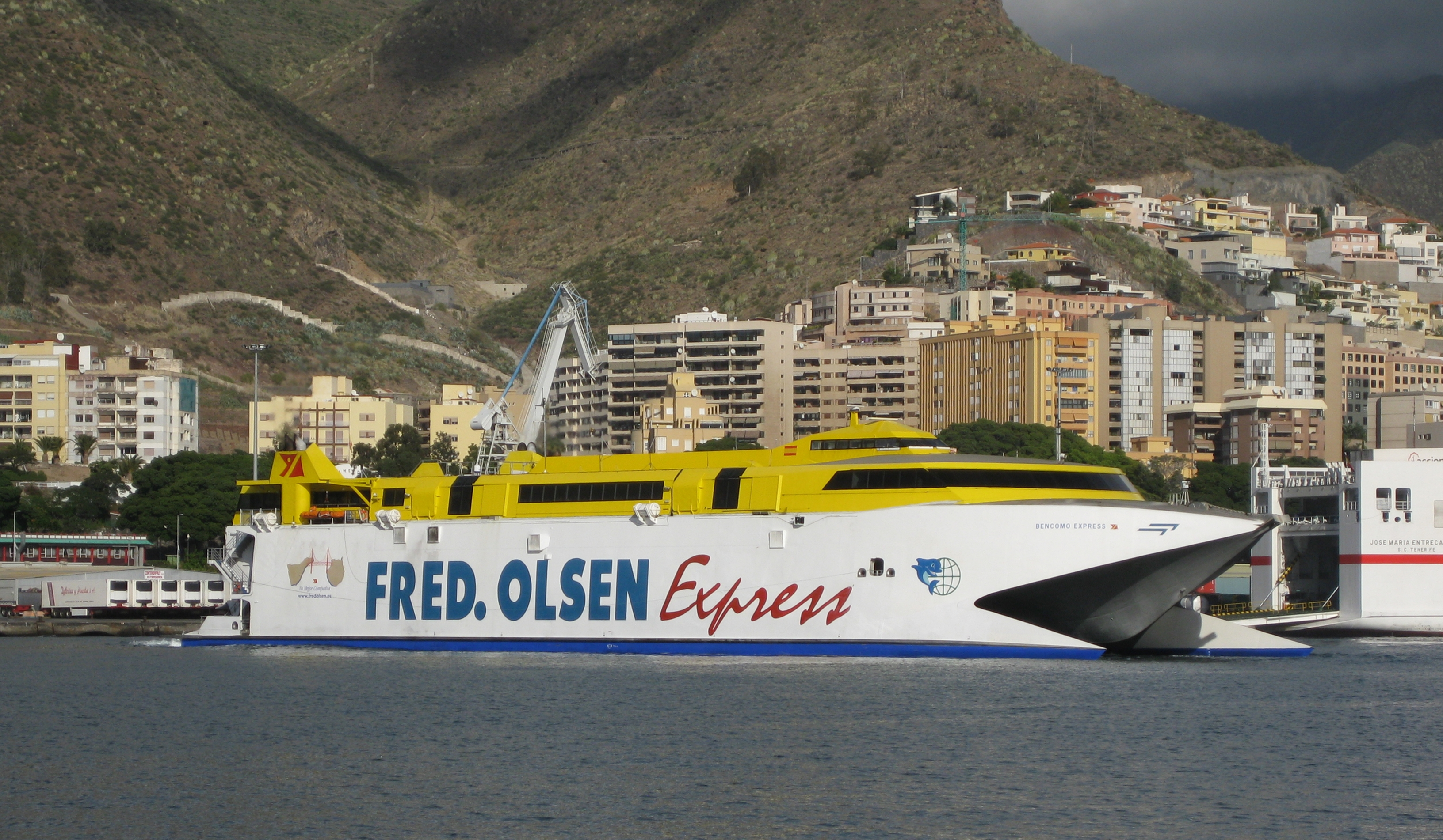 Ferry To Canary Islands From Barcelona