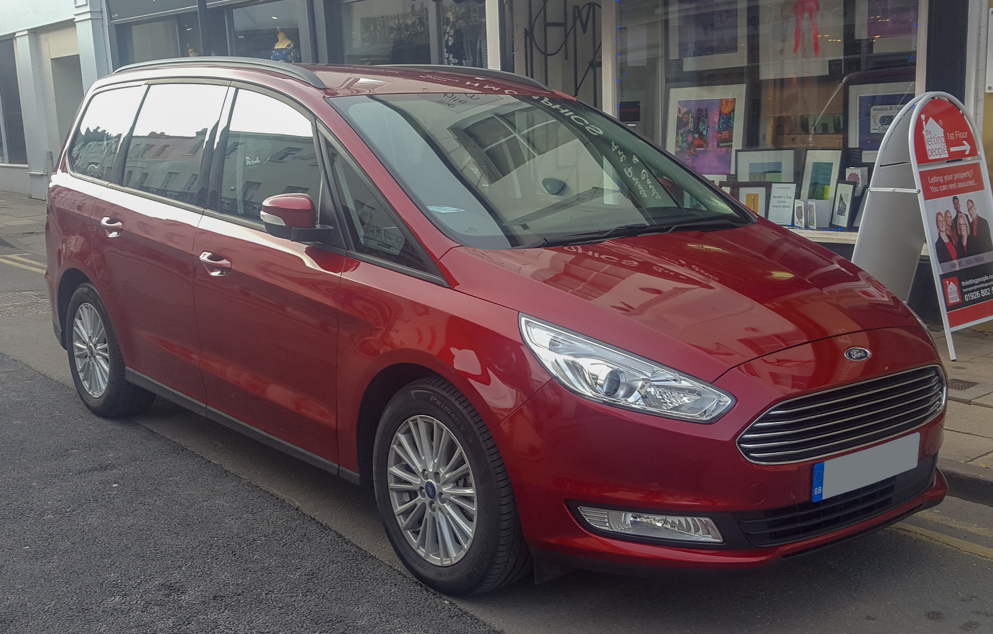 File 2017 Ford Galaxy Zetec Tdci Automatic 2 0 Front Jpg