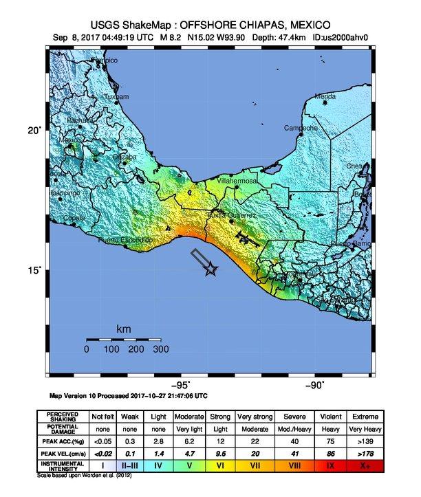 2017 Chiapas earthquake  Wikipedia