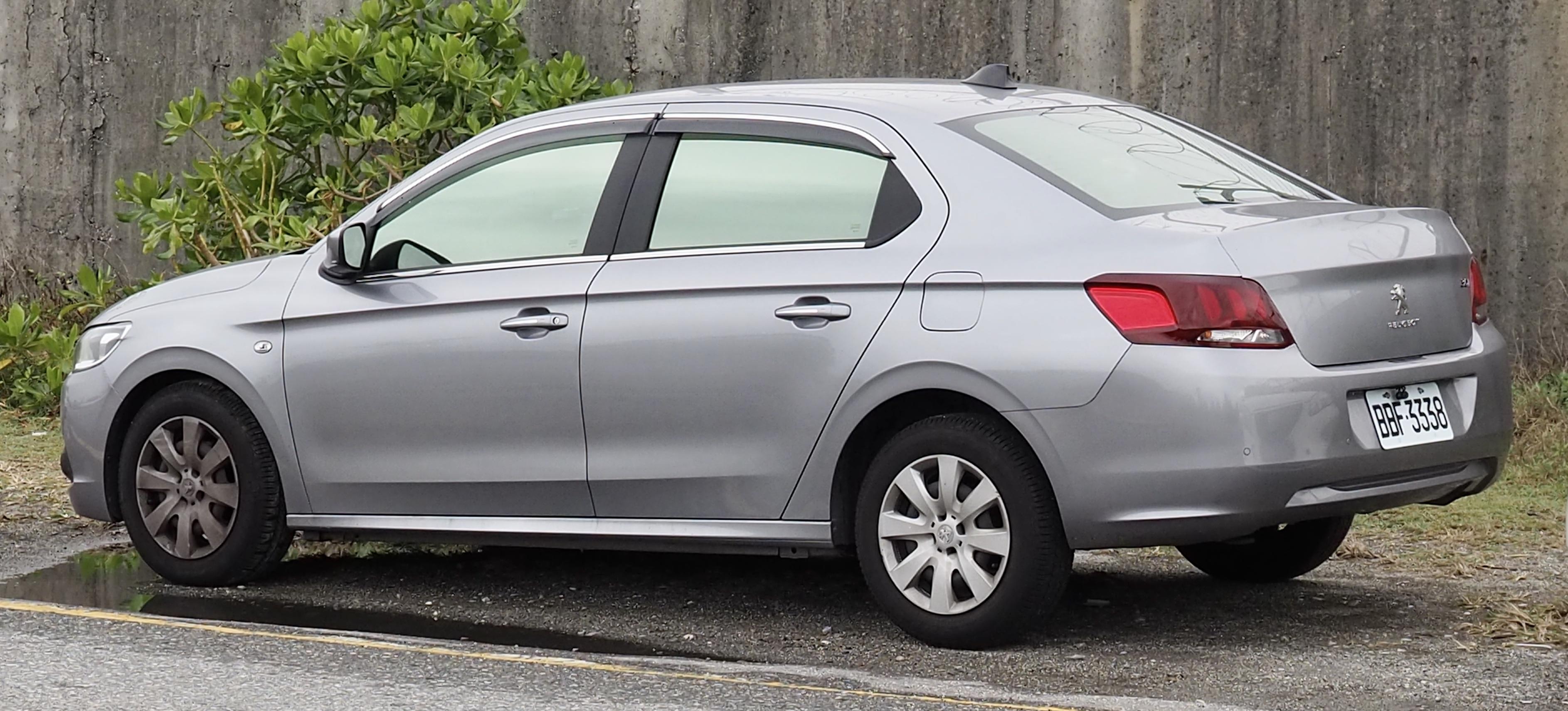 File 2017 Peugeot 301 Facelift Rear Jpg Wikimedia Commons