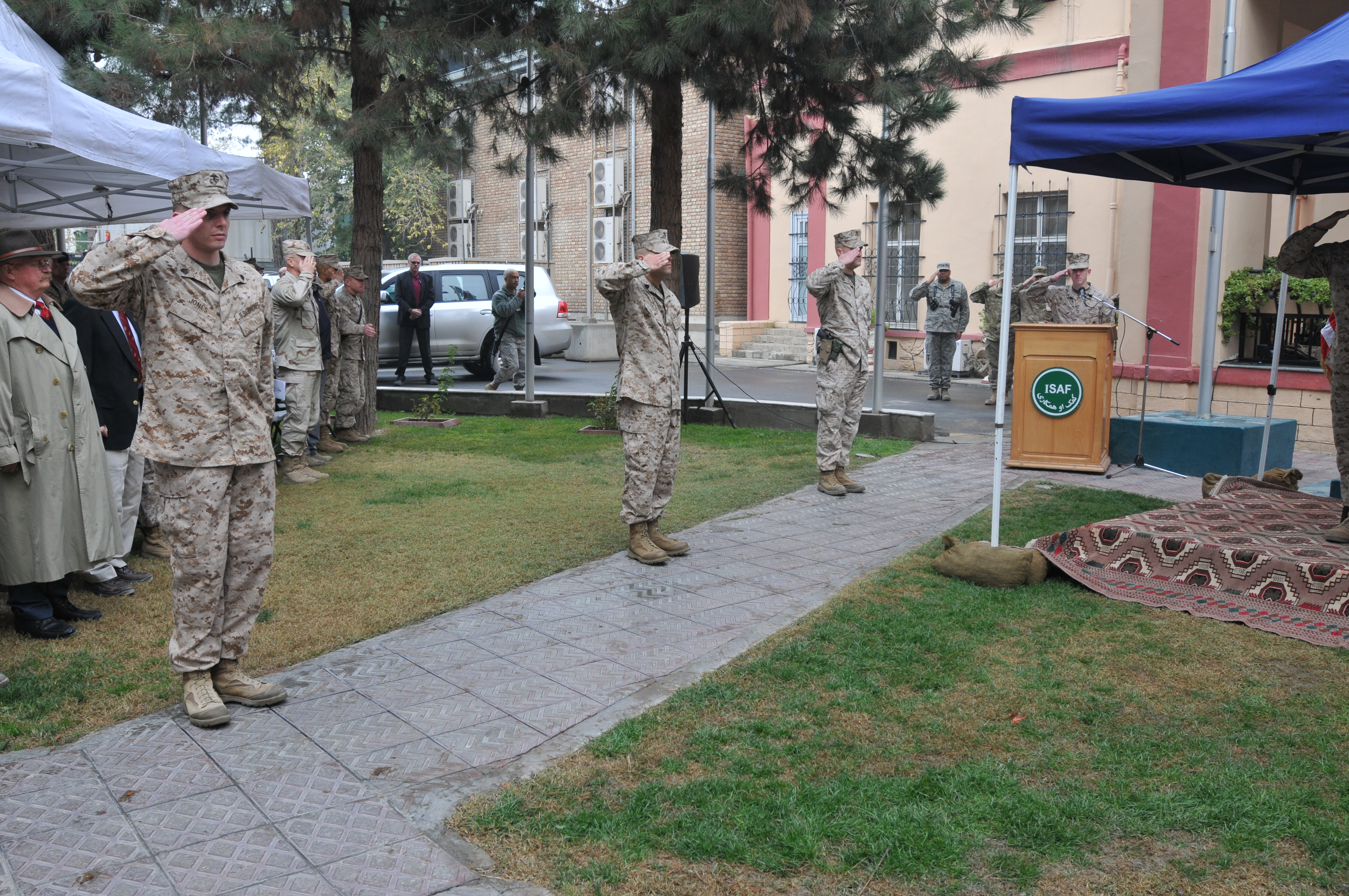 File:236th birthday of the Marine Corps at ISAF ...