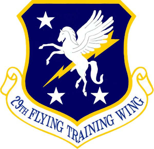 250px 29th Flying Training Wing emblem (1972–1977)