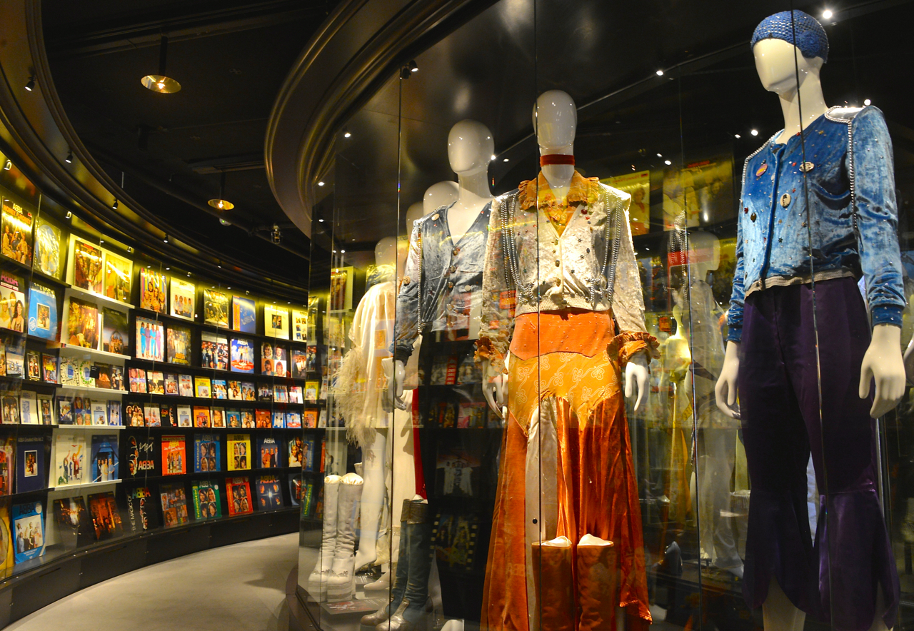 ABBA-The Museum is one of the major attractions in Stockholm