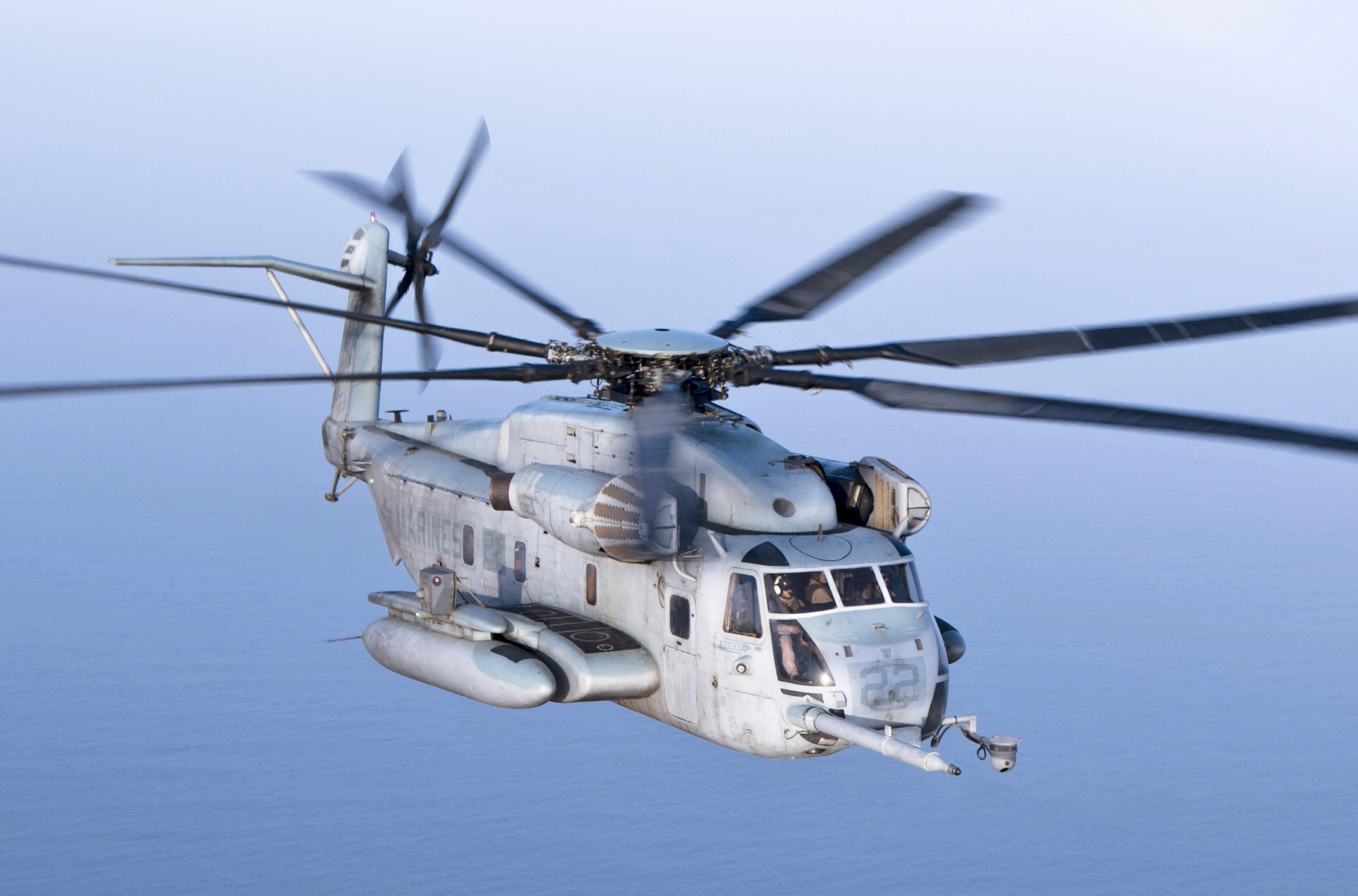 U.S. Marines – CH 53 Long Range Raid