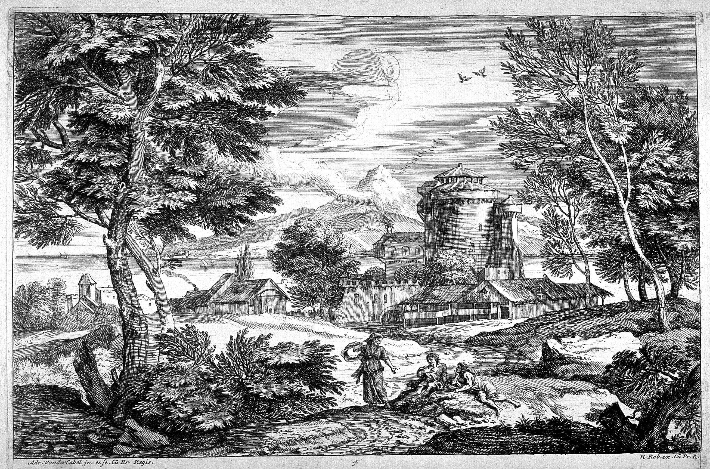 Fileadriaen Van Der Kabel De Oude Vrouwpng Wikimedia Commons