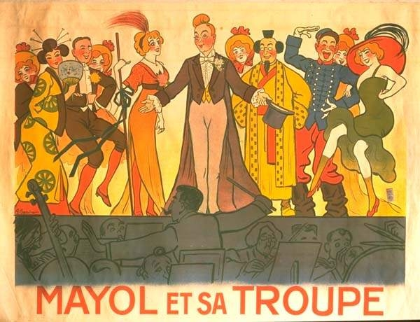 Adrien Barrère affiche Mayol