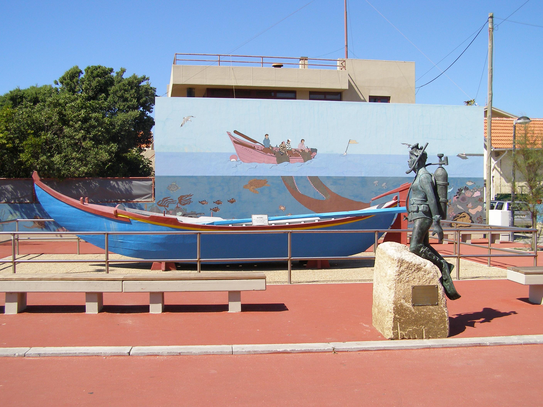 File Aguda Bateira Mergulhador Mural Jpg Wikimedia Commons