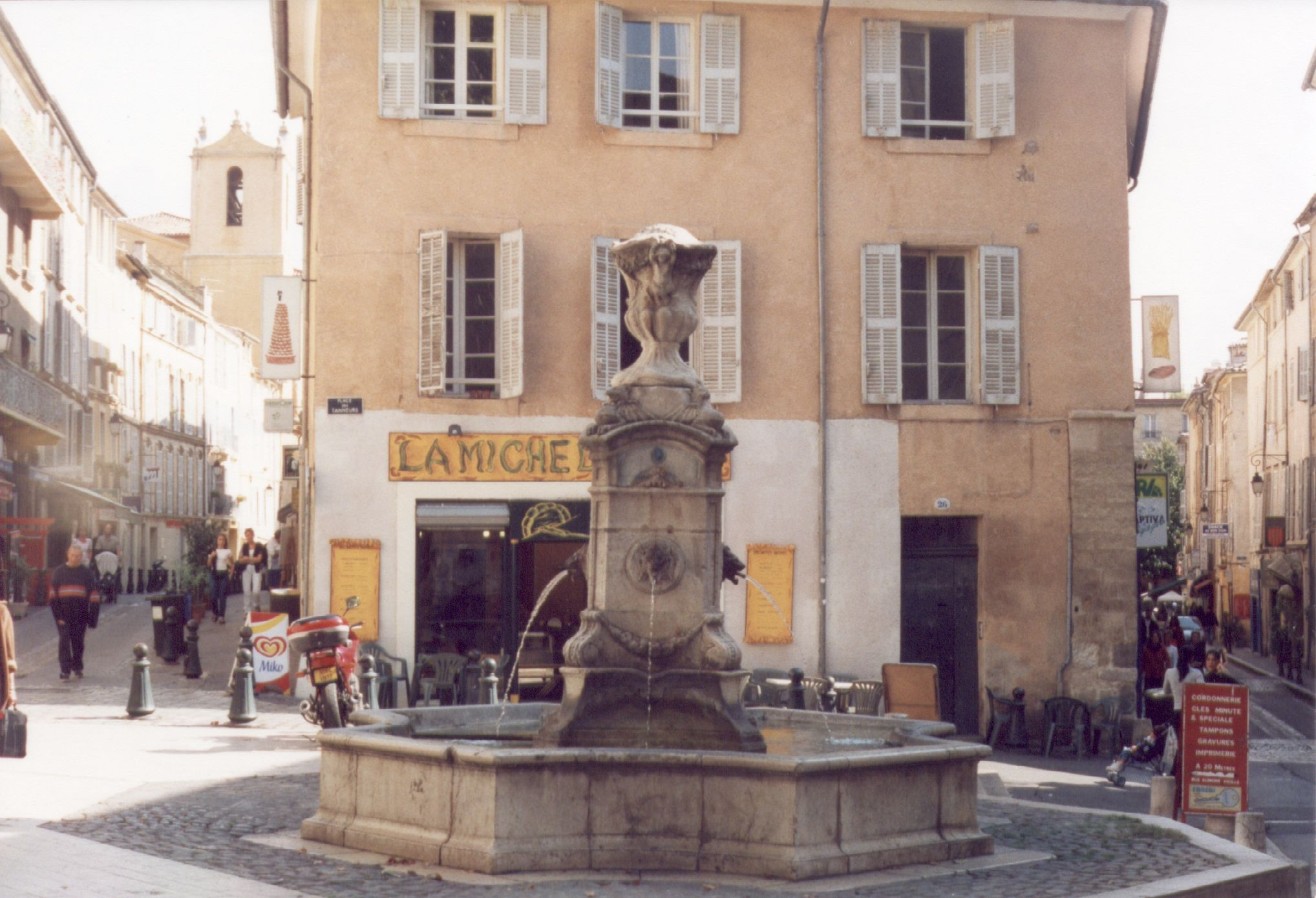 The coat of arms of Aix-en-Provence