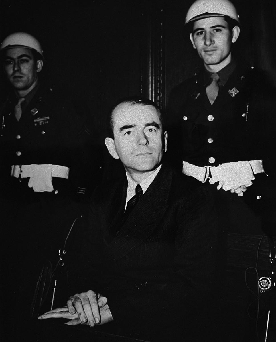 Albert Speer v průběhu Norimberského procesu