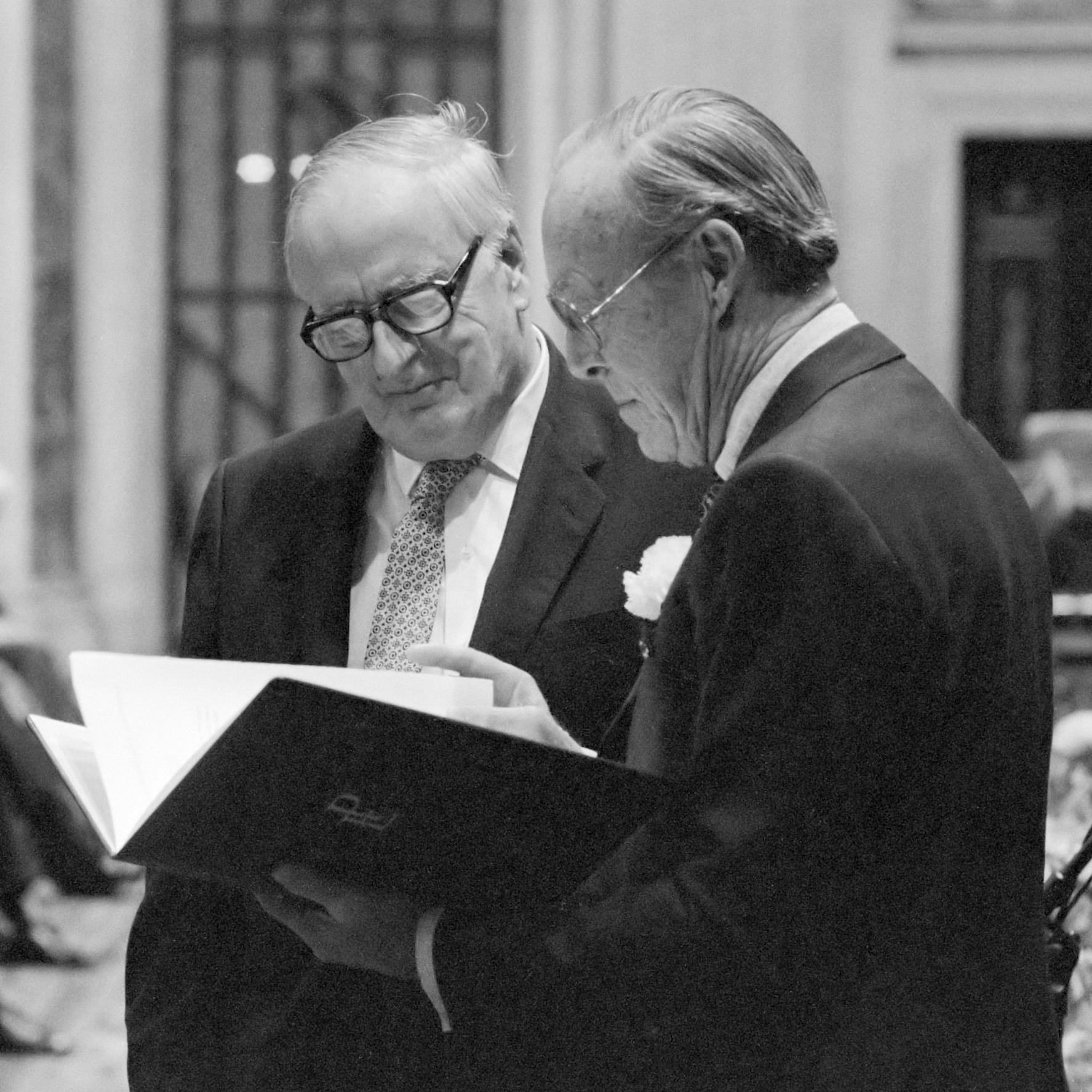 Alexander King (left)(1987)