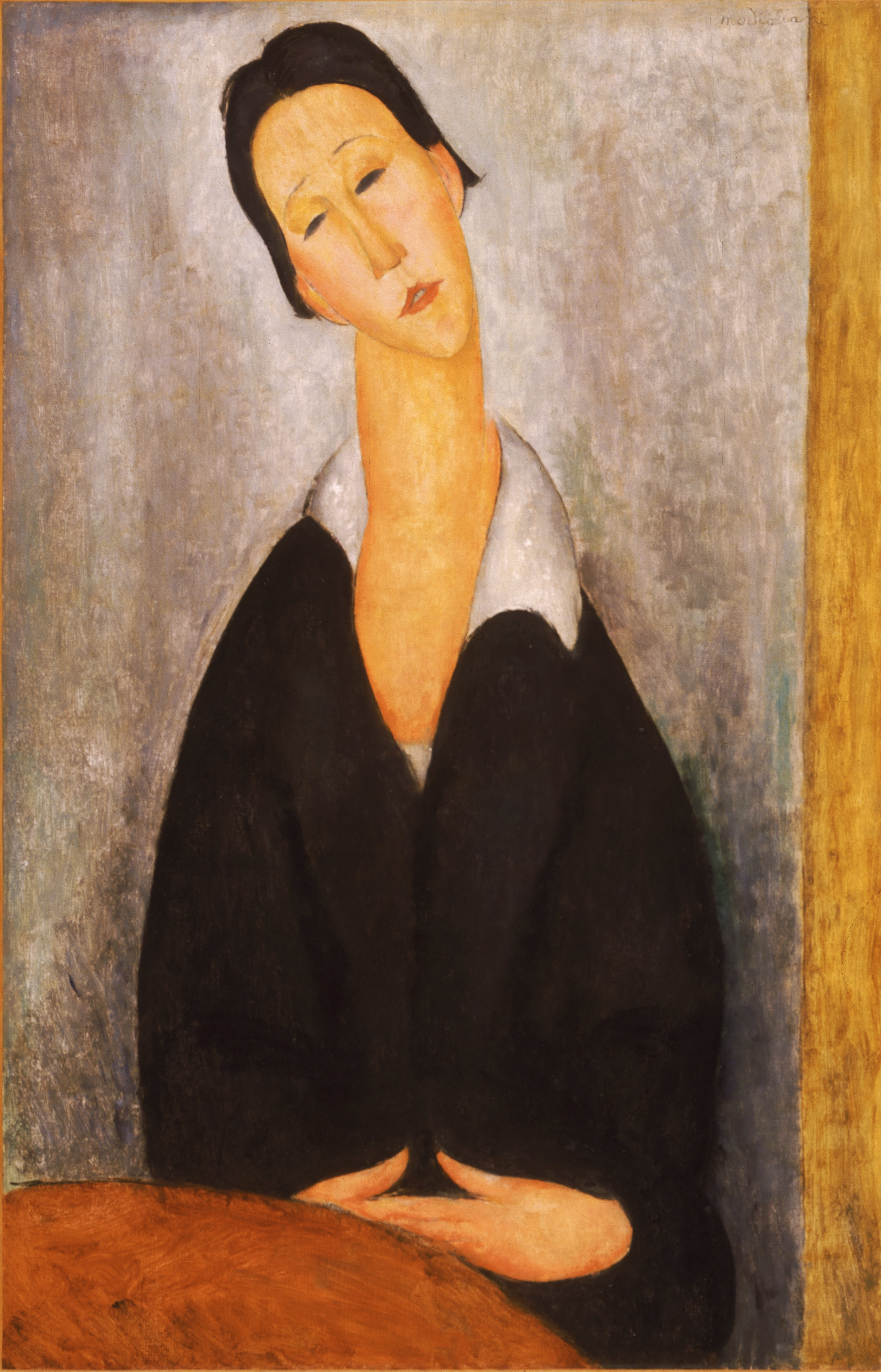 Madame Pompadour, 1914 - Amedeo Modigliani - WikiArt.org