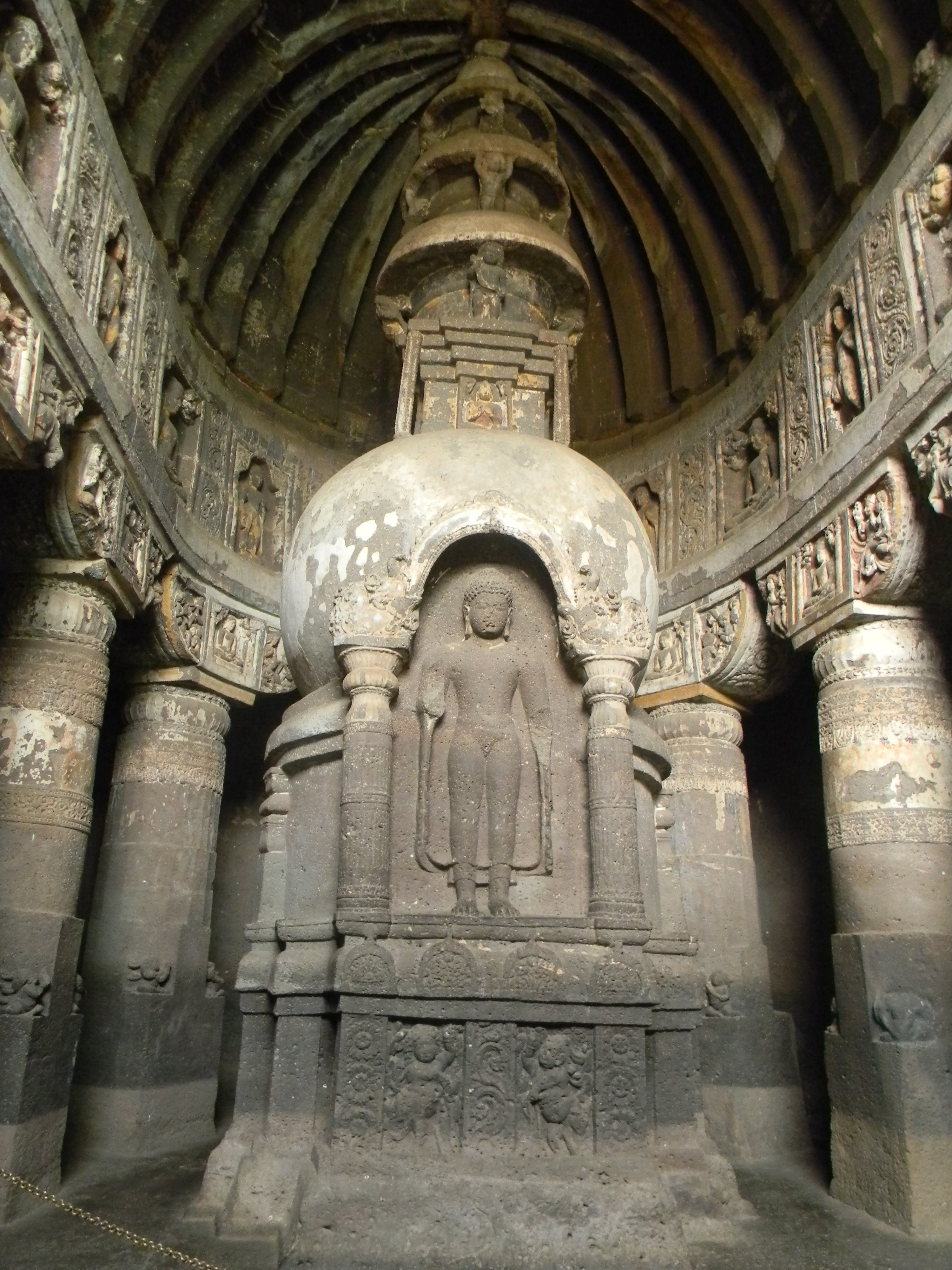 File another stupa of ajanta jpg wikimedia commons for Architecture xix