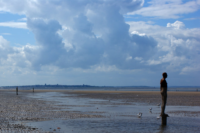 "File:Antony Gormley's ""Another Place"" - geograph.org.uk - 1356063.jpg"