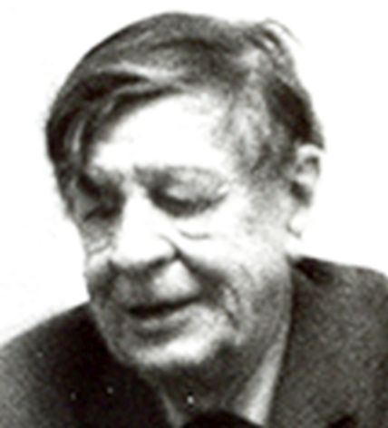 English: Photo of W. H. Auden, 1970, taken by me.