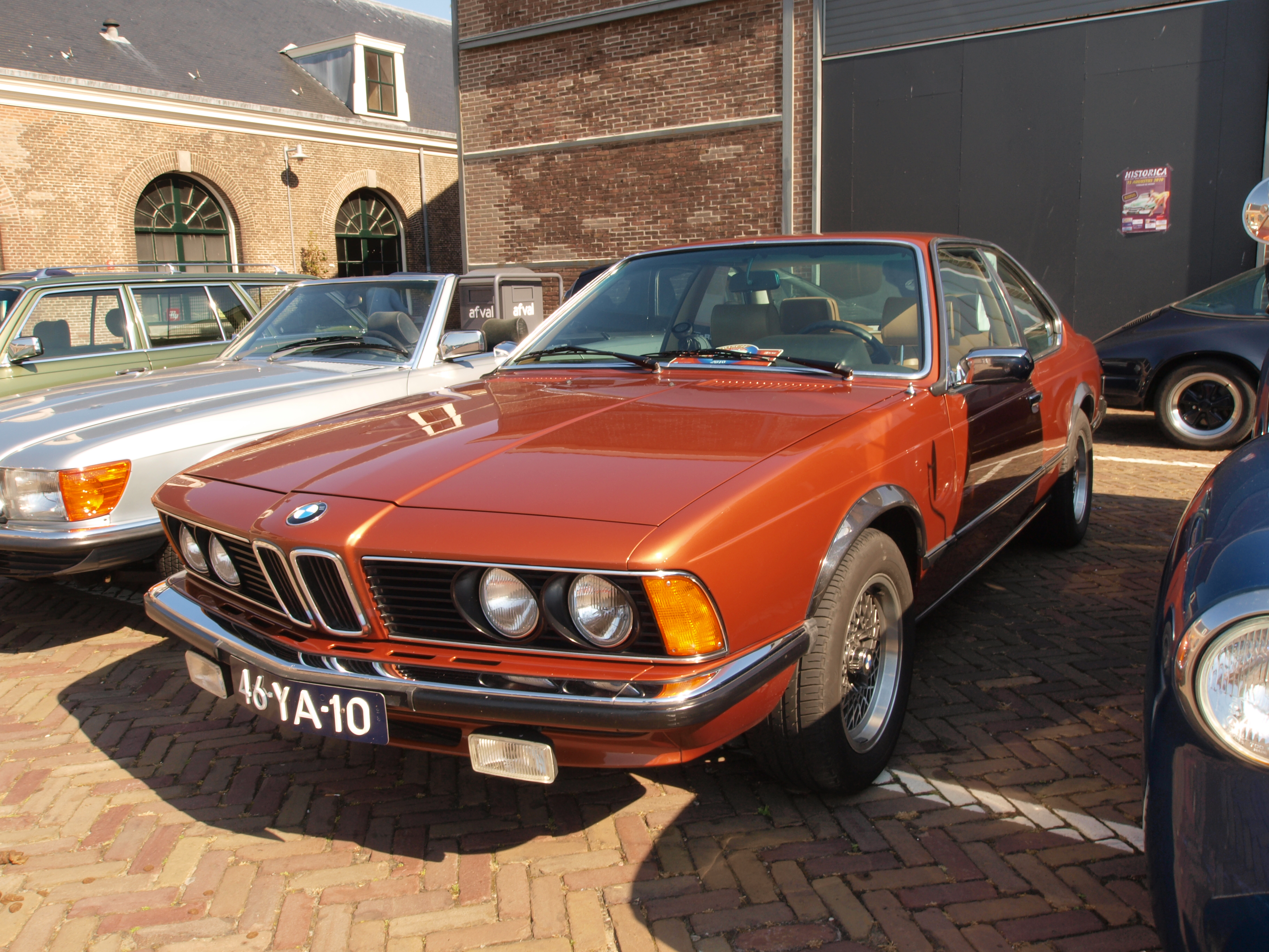 file bmw 630 cs automatic 1977 dutch licence registration 46 ya 10 pic jpg wikimedia commons. Black Bedroom Furniture Sets. Home Design Ideas