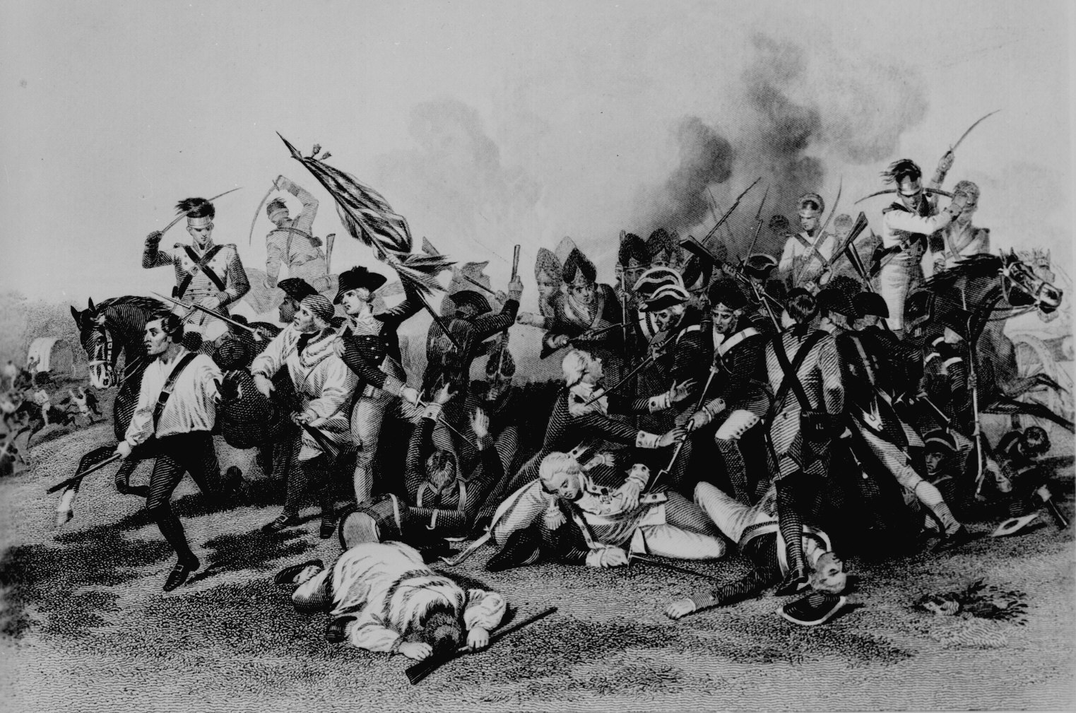 the background of the revolutionary war in 1775 Campaign background in the spring of 1775, the revolutionary war began with the battle of lexington and concordthe conflict was then at a standstill, with the british army surrounded by colonial militia in the siege of boston.