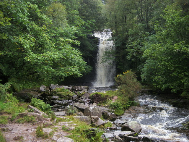 Blaen y Glyn Waterfall - geograph.org.uk - 939206