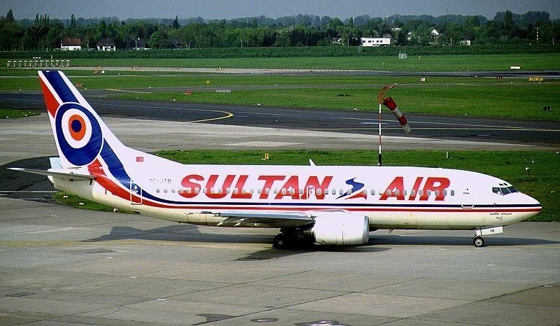Boeing 737-3G7, Sultan Air AN0062715