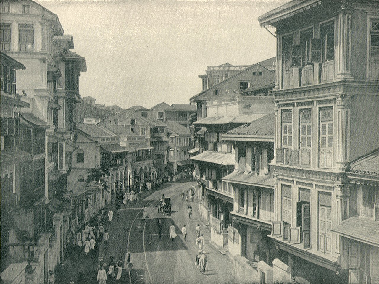 Kalbadevi Road, c. 1880