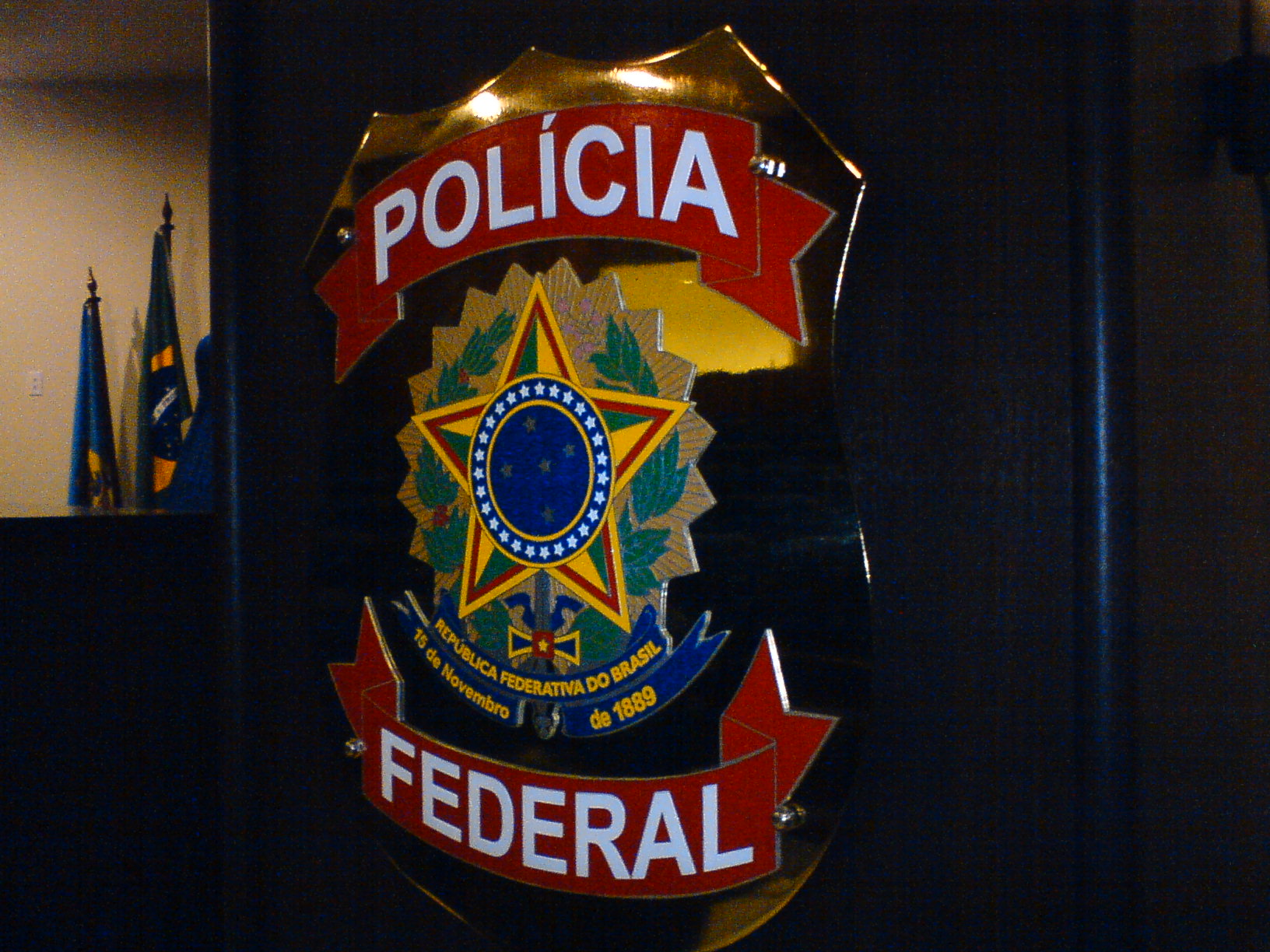 Brazil Federal Police emblem