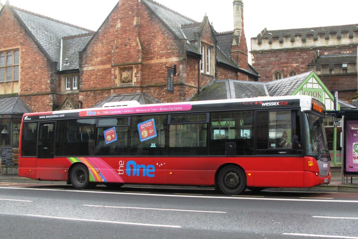wessex 1 bus