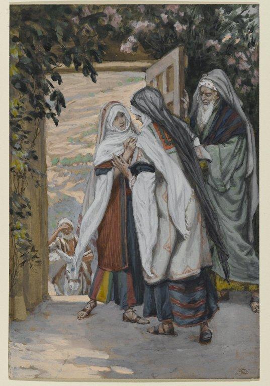 """The Visitation"" (La Visitation) by James Tissot."