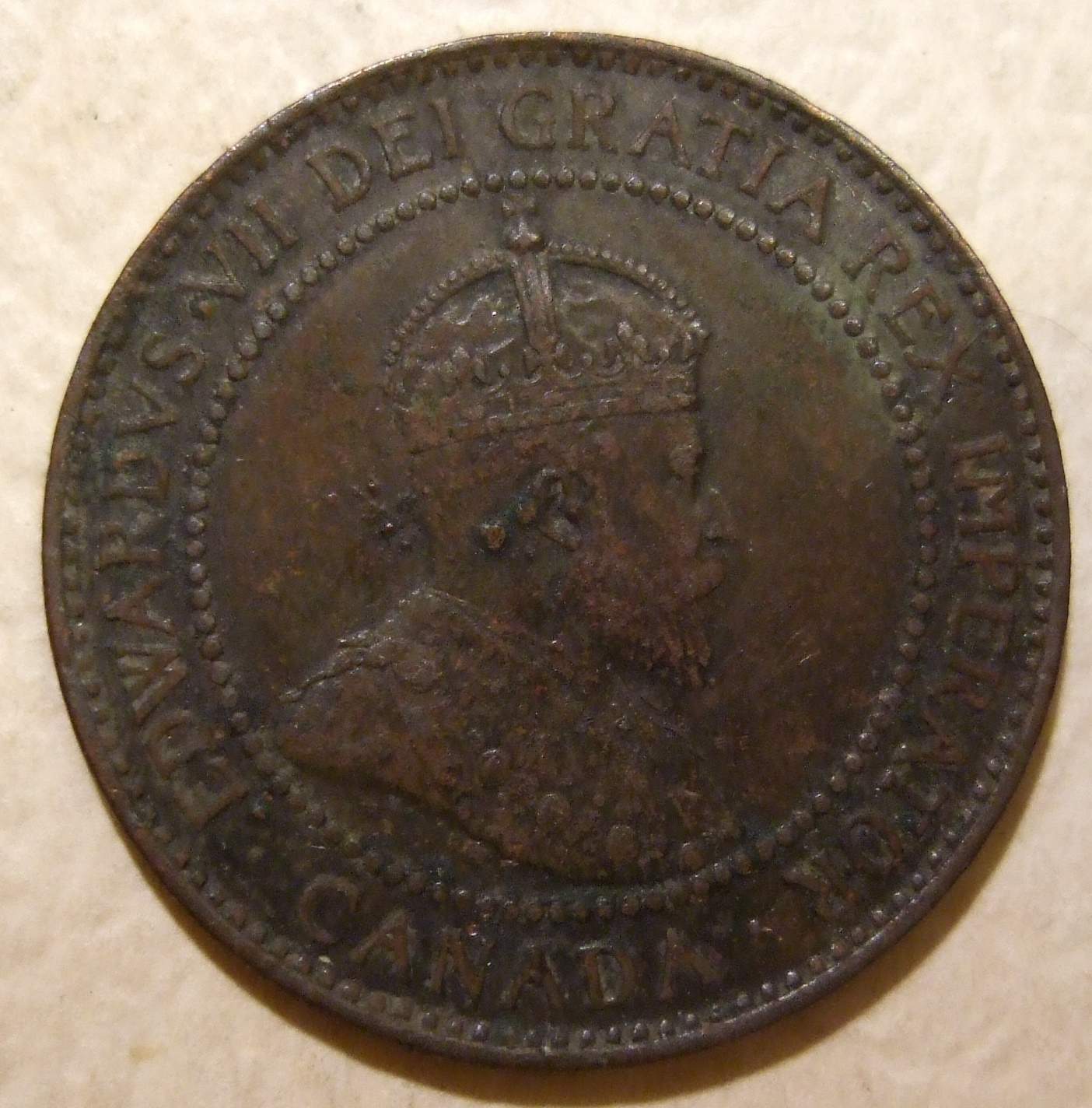 File:CANADA, EDWARD VII 1908 -ONE CENT b - Flickr - woody1778a.jpg - Wikimedia Commons