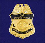 English: CBP Patrol Agent badge