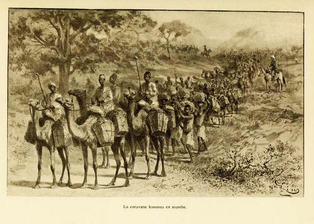 File:Caravane Haoussa transportant le kola.jpg