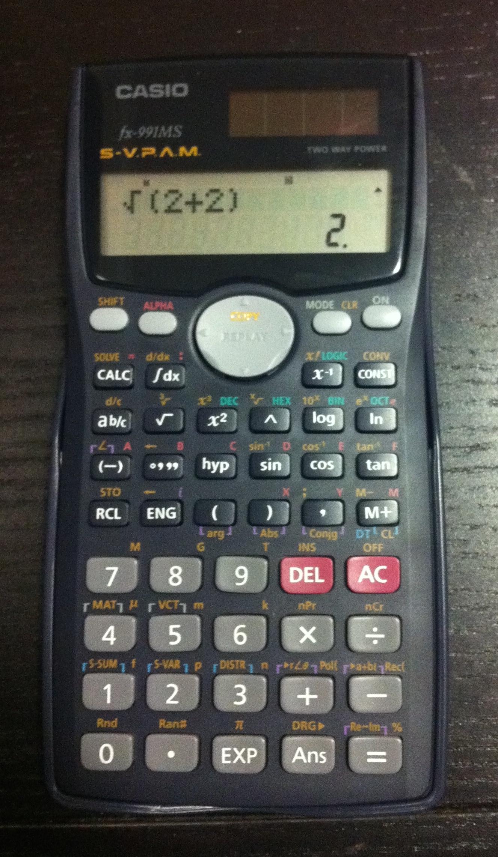 Fx-991ms | standard non-programmable scientific calculators.