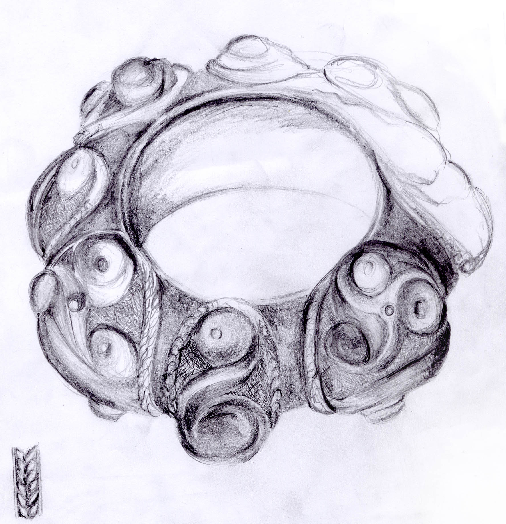 File:Celtic Bracelet from Gaul Tarn department (drawing).jpg