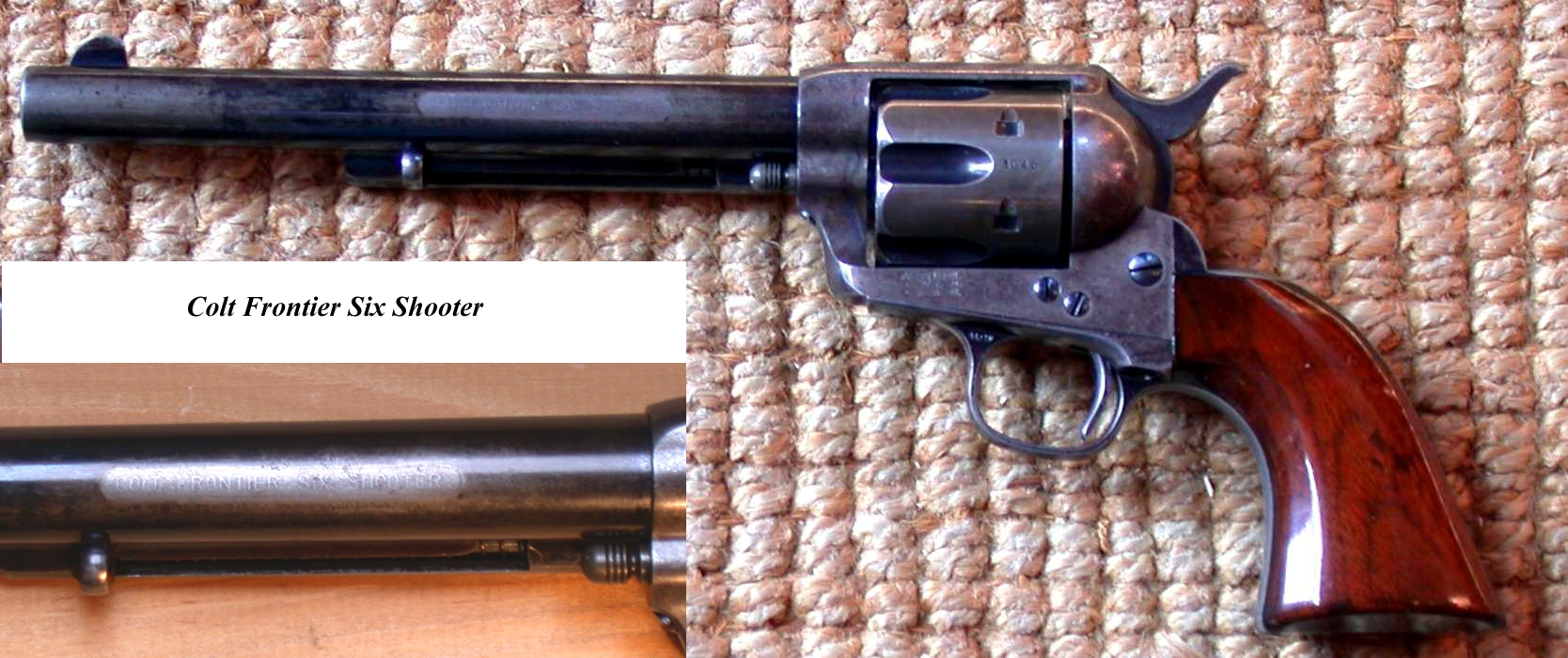 a history of the colt six shooter in texas Silver stars and six shooters a double-dose immersion into the history of the texas rangers and frontier life in the mid-1800s a replica of another early colt.