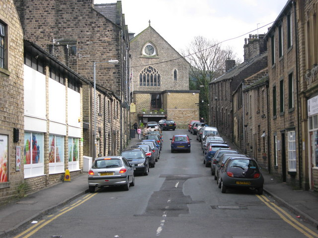 Court Street Uppermill - geograph.org.uk - 1185741
