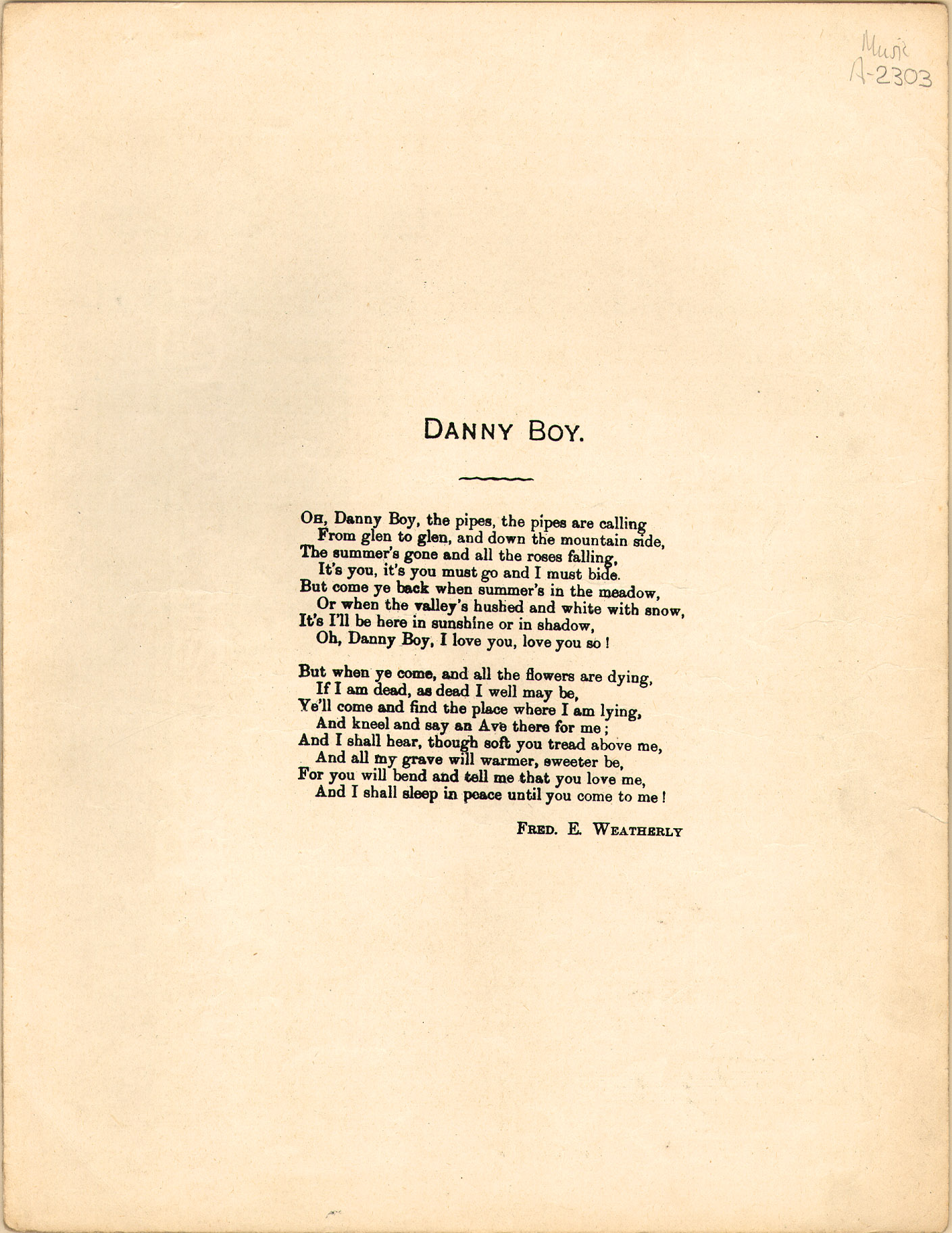 File:Danny Boy p3 - text page jpg - Wikimedia Commons