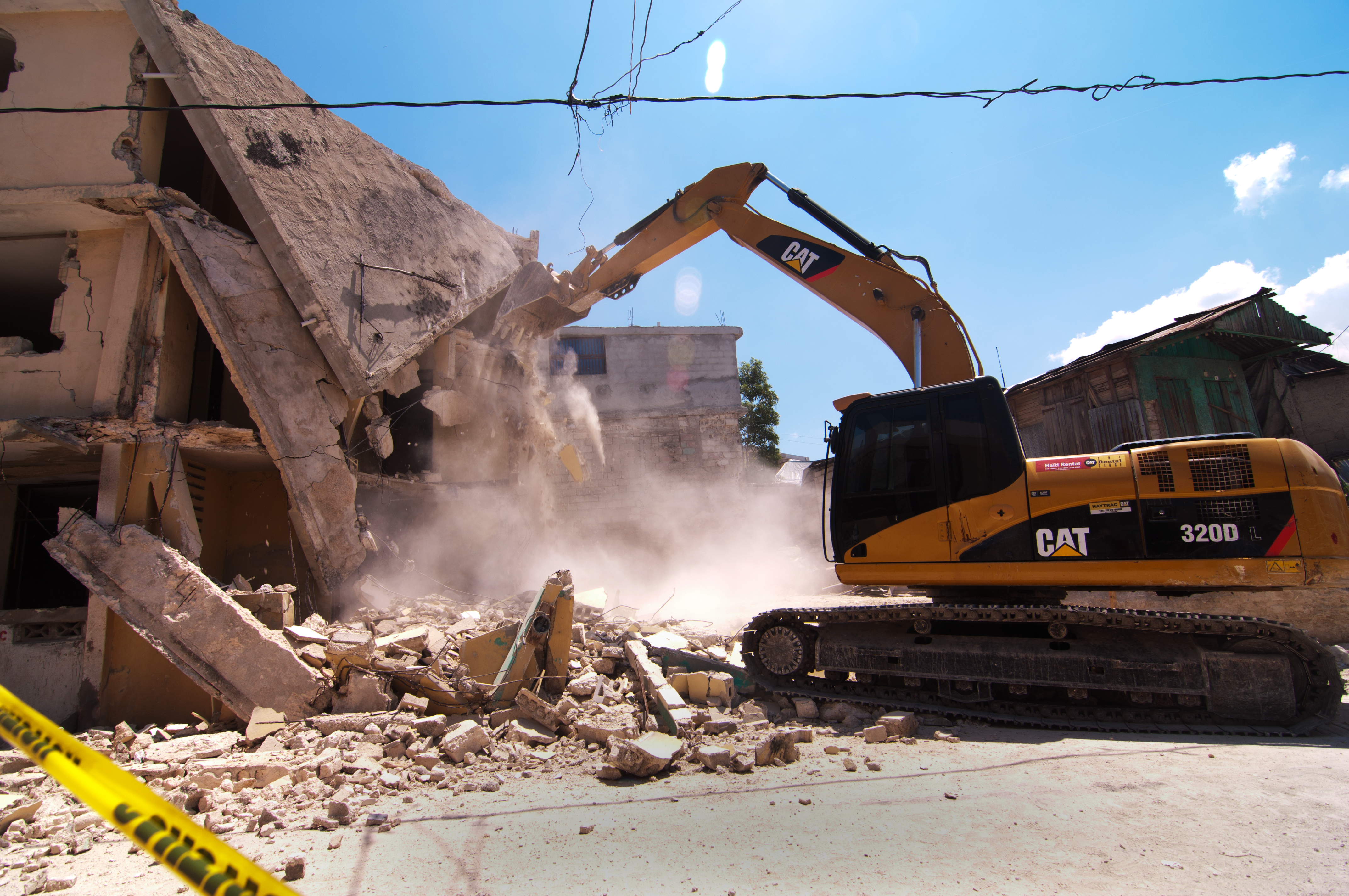 Image result for demolishing