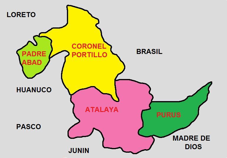 provincias de ucayali