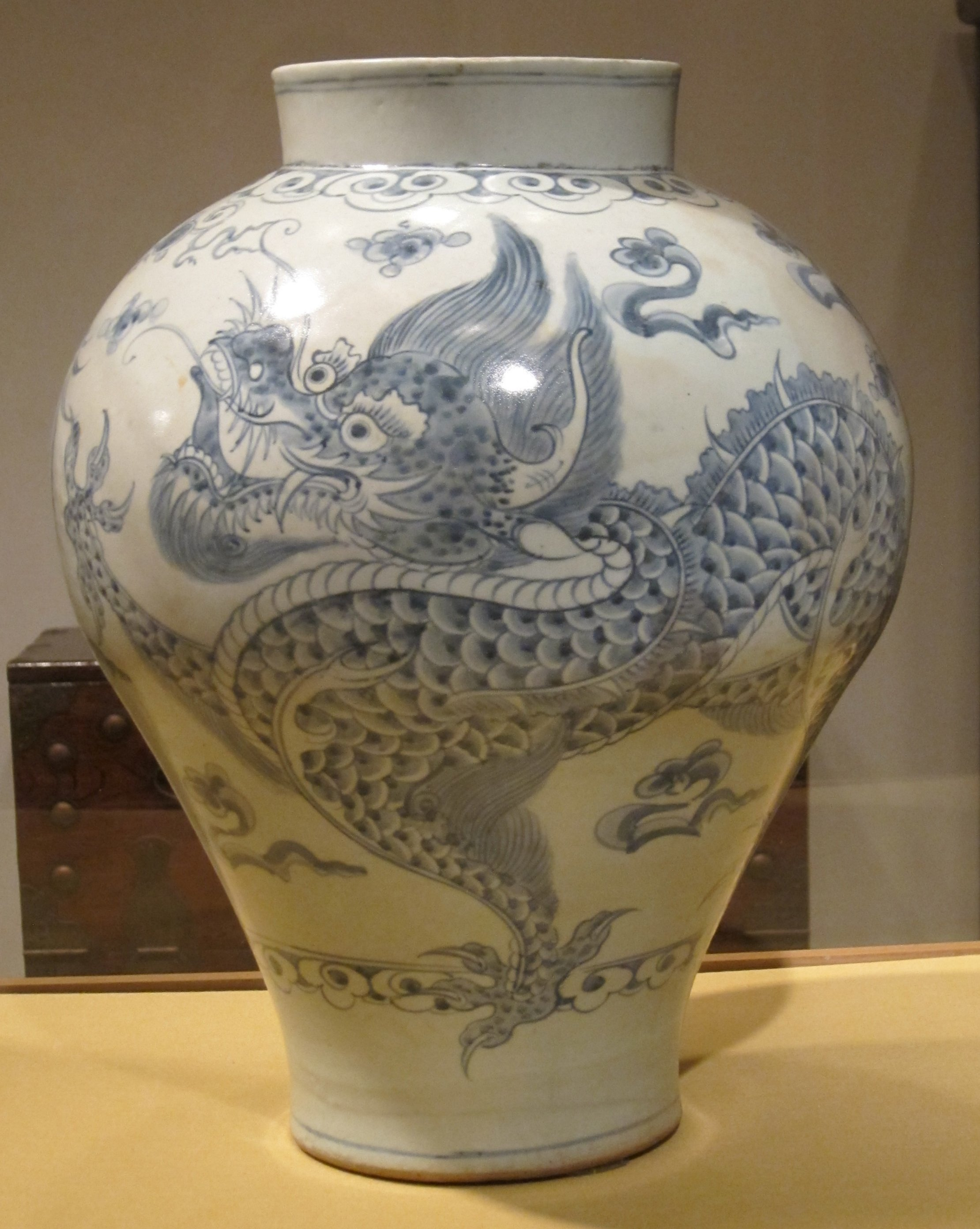File Dragon Jar Choson Dynasty Haa Jpg Wikimedia Commons