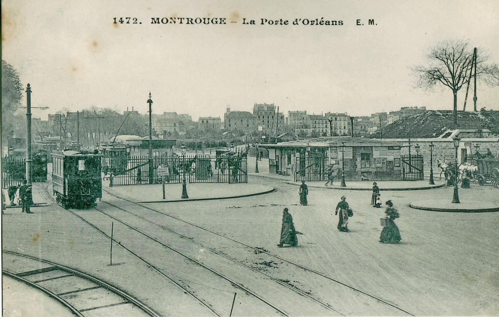 File:EM 1472 - MONTROUGE - La Porte d'Orléans.