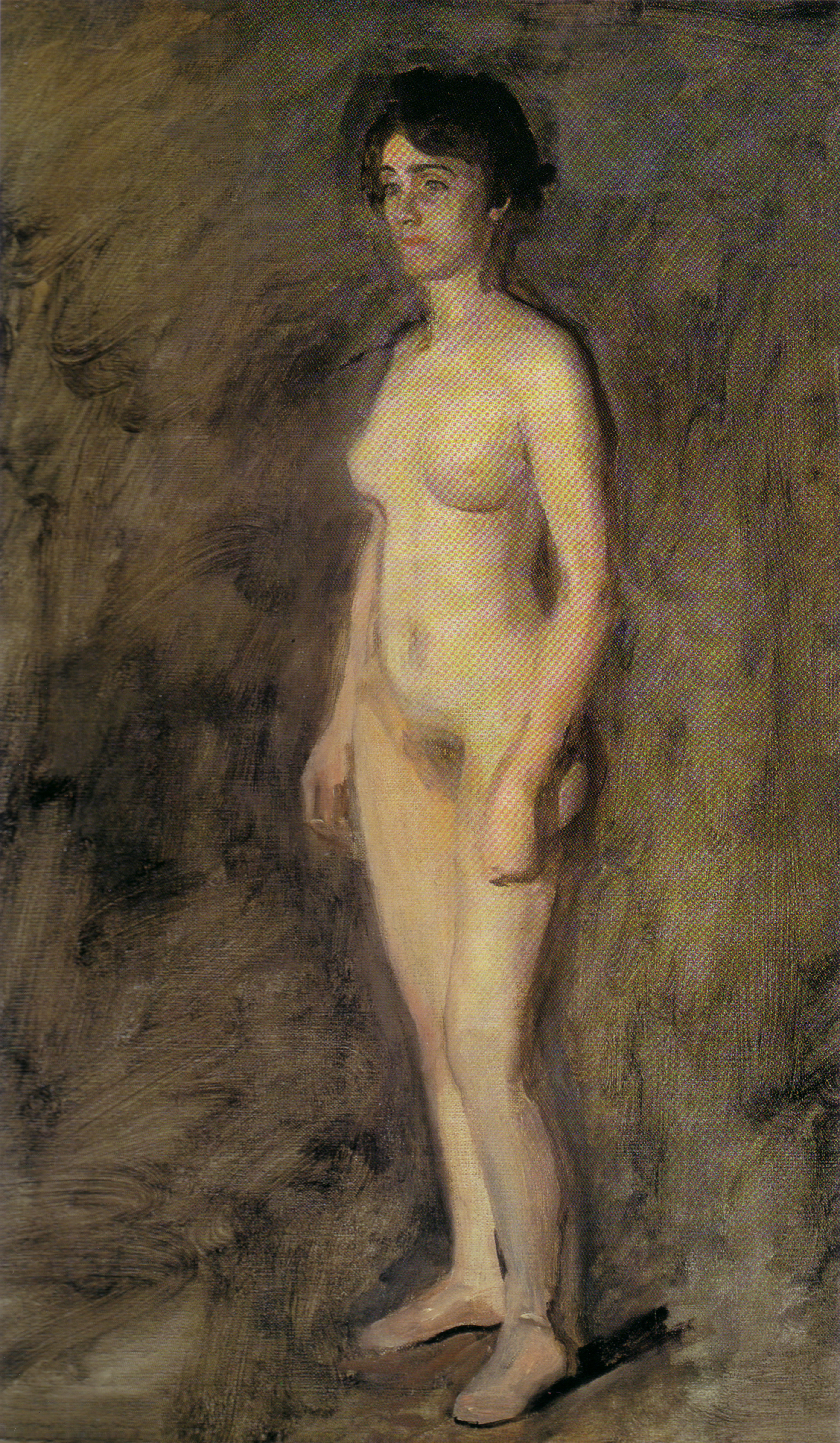 Eakins Nude woman standing 19  STUDENT LEO BANGLADESH